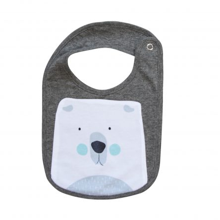 Mister Fly – Polar Bear Face Bib